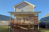Rocking Chairs on Covered Deck 2 Bedroom