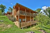 Pigeon Forge 2 bedroom cabin with covered decks