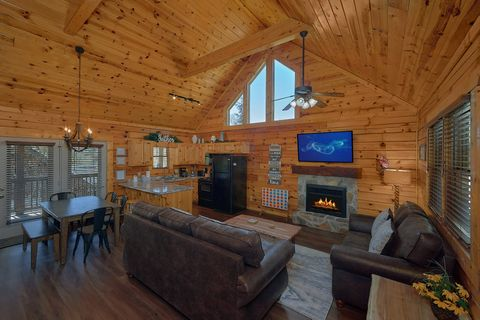 2 bedroom luxury cabin with fireplace - Cozy Escape
