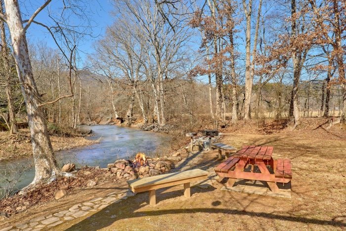 Creekside Cottage Vacation Home Rental Photo