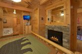 King Bedroom with Jacuzzi Tub and Fireplace