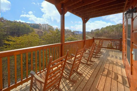 Large Deck Area with Rocking Chairs - Crosswinds