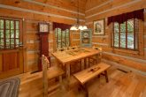 Wears Valley cabin with dining room for 4