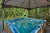 Private Cabin with Large Hot Tub Sleeps 4