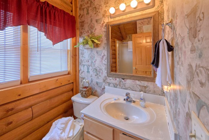 Cabin with King Bed, Jacuzzi, and Full Bathroom - Dainty's Digs