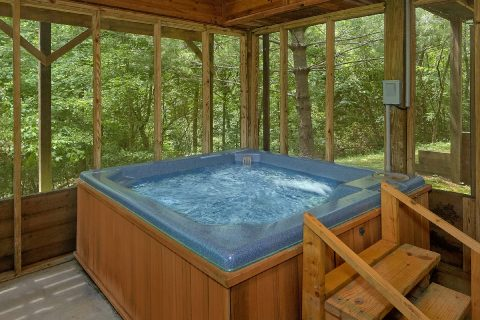 2 Bedroom 3 Bath with Private Hot Tub - Dancing Bear VII