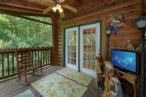 Covered Deck with Rocking Chairs 2 Bedroom