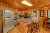 Full Kitchen in luxury cabin that sleeps 14
