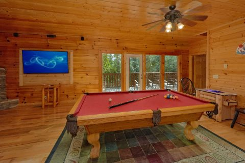 5 Bedroom cabin with Pool Table in Game room - Deer To My Heart