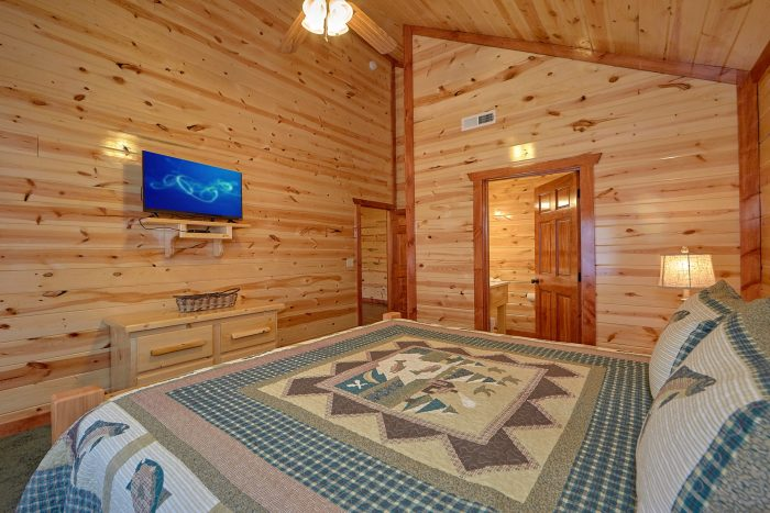 5 Bedroom and 5 Bath Smoky Mountain Pool Cabin - Dive Inn