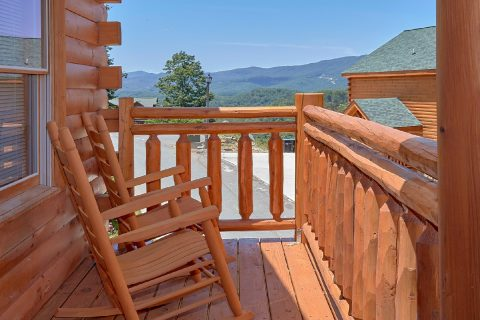 5 Bedroom Cabin with Rocking Chairs on the Decks - Dive Inn