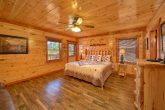 Spacious cabin with 11 King beds and 16 baths