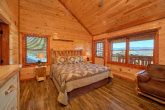 Master Bedroom with King Bed in 12 bedroom cabin
