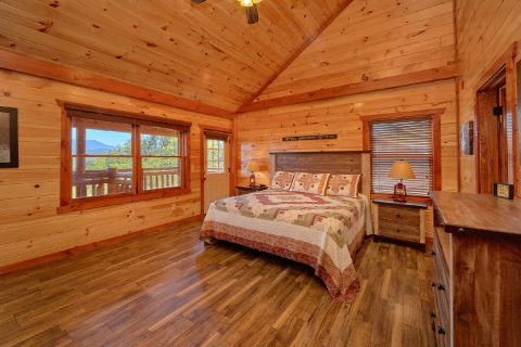 Beautiful Mountain Views from 12 bedroom cabin - Dream Maker Lodge
