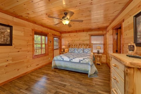 Large cabin for church group and youth retreats - Dream Maker Lodge