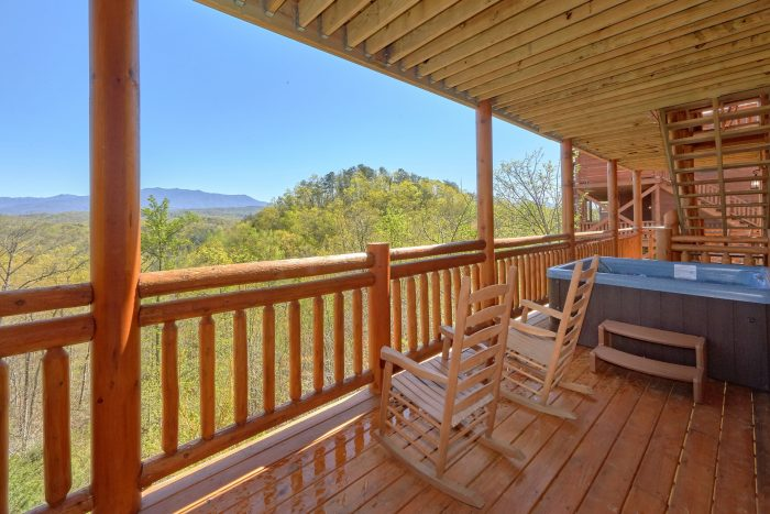 12 bedroom cabin with Indoor Pool and Hot tubs - Dream Maker Lodge