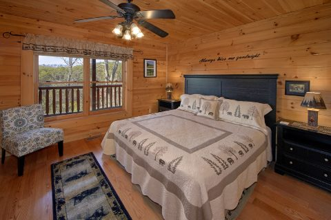 Luxurious 4 Bedroom Cabin with 3 King Beds - Dreamland