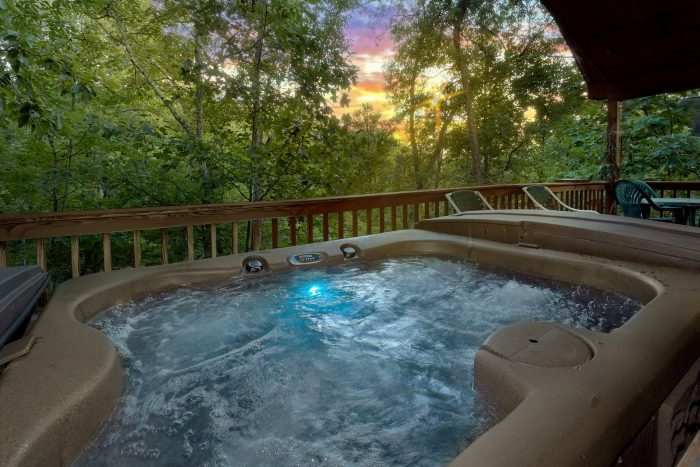 1 bedroom Honeymoon Cabin with Private Hot Tub - Dreams Come True