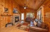 Cabin with Sleeper Sofa, Fireplace and TV