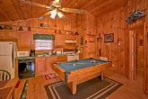 Cabin with full size pool table