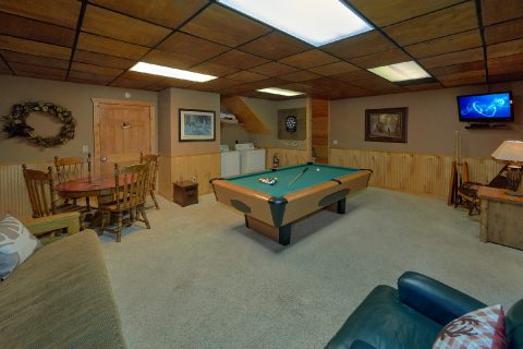 1 bedroom cabin with pool table and washer/dryer - Dreamweaver