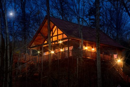 Southern Lights: 1 Bedroom Pigeon Forge Cabin Rental