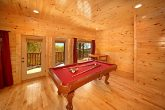 Pool Table with Wooded Views