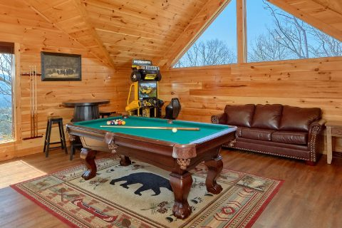5 bedroom Cabin with Game Room and Pool Table - Elk Ridge Lodge