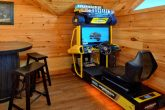 Luxury Cabin with Race Car Driving Arcade Game