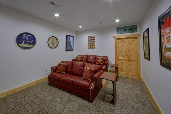 Luxury Cabin with Private Pool and Theater Room - Elk Ridge Lodge