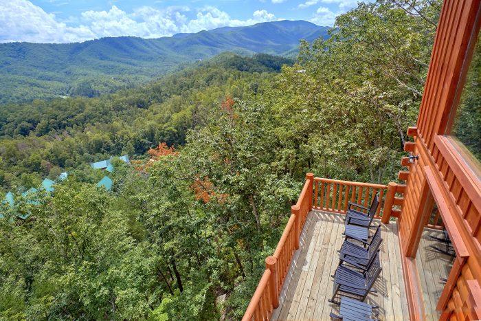 Views of the Mountains from Cabin decks - Elk Ridge Lodge
