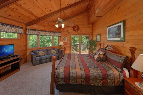 Cobbly Nob 3 Bedroom 2 Bath Cabin Sleeps 10 - Emerald View