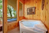 Cabin with Private Jacuzzi Tub and View