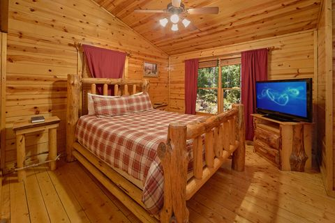 Bedroom with Queen Bed - Endless Joy