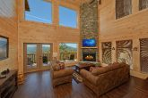 Premium cabin rental with Stone Fireplace
