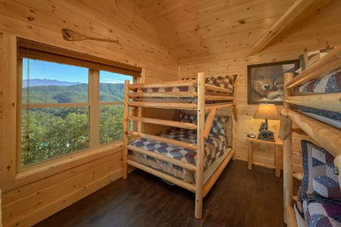 Group Size cabin with 2 sets of double bunk beds - Endless Sunsets