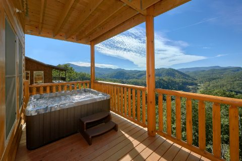 5 bedroom cabin with hot tub and mountain views - Endless Sunsets
