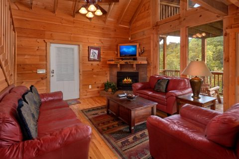 3 Bedroom Cabin with Fireplace in Living Area - Falcon Crest