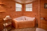 3 Bedroom Cabin with Luxurious Jacuzzi Tub