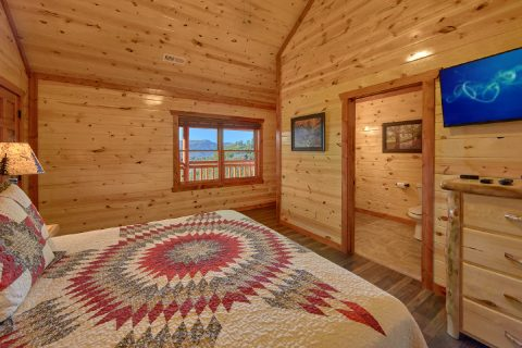 6 Bedroom Cabin Sleeps 14 with Indoor Pool - Family Fun Pool Lodge 2