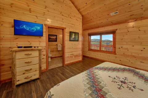 Spacious 6 Bedroom Cabin Sleeps 14 - Family Fun Pool Lodge 2