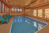 Indoor Pool Cabin with 6 Bedrooms Sleeps 14