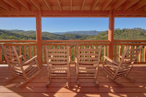 Mountain Views 6 Bedroom Cabin Sleeps 14 - Family Fun Pool Lodge 2