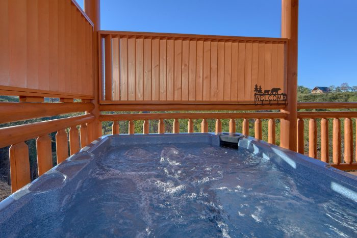 Beautiful Views From Hot Tub 6 Bedroom Cabin - Family Fun Pool Lodge 2