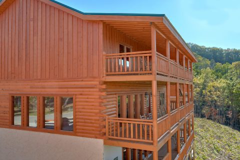 3 Story 6 Bedroom Indoor Pool Cabin Sleeps 14 - Family Fun Pool Lodge 2