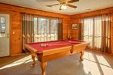 Group Size 7 Bedroom cabin with pool table