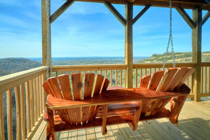 2 Bedroom Cabin with Swing and Spectacluar Views - Fifty Mile View