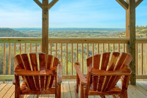 Spectacular Viewa 2 Bedroom Cabin Sleeps 6 - Fifty Mile View