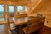 Luxury Cabin with Furnished Dining Room