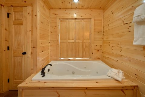 Large Jacuzzi Tub - Fifty Mile View